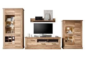 Wohnzimmerschrank Nussbaum Kaufen Trendteam Wohnwand Montreal Victoir Iii Nussbaum Möbel Letz Ihr