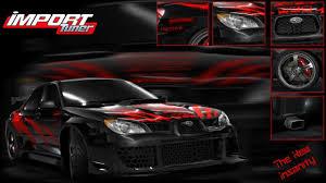 subaru tuner car photo collection import tuner car wallpaper
