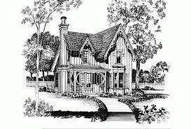 eplans gothic revival house plan a gothic revival gem 1247