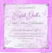 design sweet 16 invitations birthday invites sweet 16 birthday