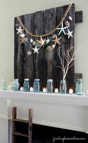 Coastal Decorating Best 25 Summer Mantle Decor Ideas On Pinterest 4th Of July