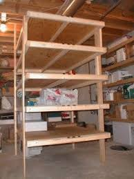 Plans For Freestanding Storage Shelves by Free Standing Shelves Ask The Builderask The Builder