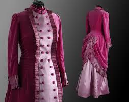female velvet dress c 1882 historical costumes vintage
