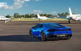 Lamborghini Huracan Blue - stunning blue chrome lamborghini huracan by sunus motorsport
