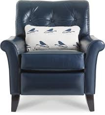 La Z Boy Recliners Thorne High Leg Recliner With Tufted Back By La Z Boy Wolf And