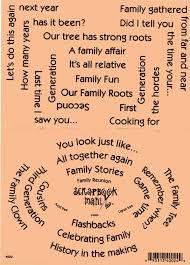 family quotes for scrapbooking scrapbook mania stickers family