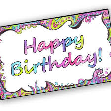 happy birthday printable cards pictures reference
