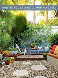 Backyard Ideas For Small Yards On A Budget Best 25 No Grass Backyard Ideas On Pinterest Small Garden No