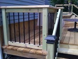 porch railing home depot 6 ft porch stair railing home depot