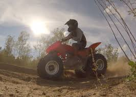riding honda trx250x youtube