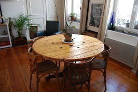 table basse touret bois table touret détournée un air de récup u0027