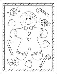 blank gingerbread man digital art gallery gingerbread coloring