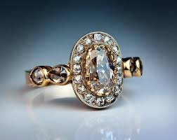 coloured rings jewelry images Fancy color diamond antique engagement rings antique jewelry jpg