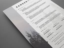 creative resume template free download psd wedding photographer resume photoshop psd template on behance