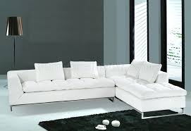 modern black and white leather sectional sofa modern leather sectional sofas andreuorte com