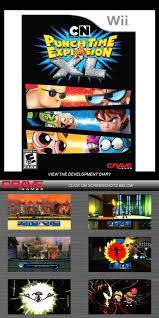 network punch time explosion the sequel network punch time explosion xl nintendo wii