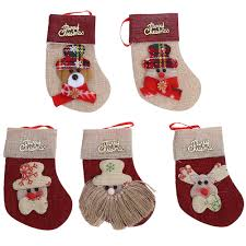 Christmas Decoration For Home by Online Get Cheap Red Christmas Stockings Aliexpress Com Alibaba
