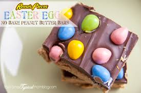 reese easter egg easter egg reese s pieces no bake peanut butter bars tips from a