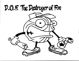 d o f the destroyer of fun coloring page team unthinkables