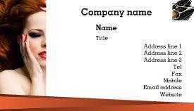 Beauty Spa Business Cards Free Printable Beauty Salon Spa Business Card Templates U2013 Brother