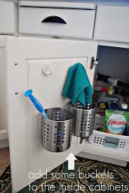 Inside Kitchen Cabinet Door Storage Super Creative Kitchen Organization Ideas The Happy Housie
