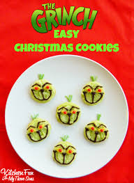 the grinch easy christmas cookies grinch cookies and pillsbury