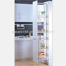 Pull Out Baskets For Kitchen Cabinets by Cheap Kitchen Cabinet Tall Unit Pull Out Metal Pantry Organizer