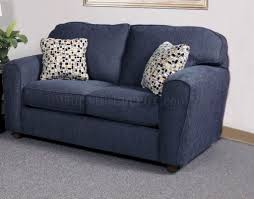 navy blue sofa and loveseat furniture cool navy blue fabric loveseat with adorable pillows