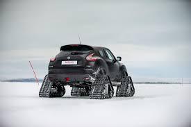 juke nismo rear nissan juke nismo rsnow has tracks for deep snow autotribute