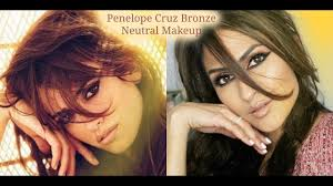 penelope cruz inspired makeup tutorial bronze glam