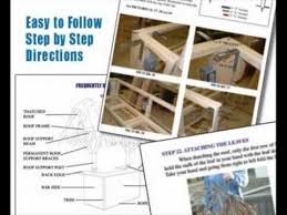 How To Make Tiki Hut Build Your Own Tiki Bar Tiki Bar Plans Youtube