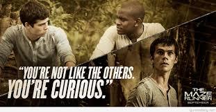 the maze runner film the maze runner movie quotes