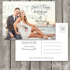 postcard save the dates save the date postcard template wedding photo save the date
