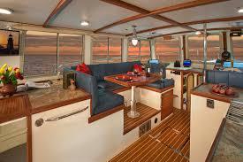 Boat Galley Kitchen Designs Moon River 48 U2013 Devlin Designing Boat Builders