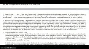 Sample Investment Agreement How To Complete A Purchase Agreement When Buying Subject To