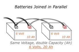 how to wire batteries in parallel ups battery center
