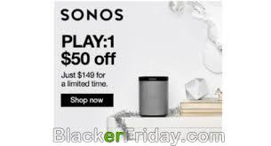target black friday sonos deal sonos cyber monday 2017 sale on play 1 playbar u0026 playbase