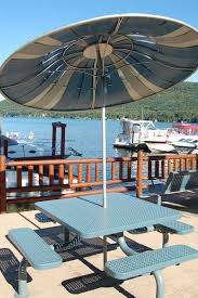 Old Metal Outdoor Furniture by Sundrella Aluminum Patio Umbrellas In Production Since 1956