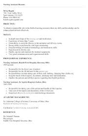 nursing assistant resume exles cna resume sles exles skills with certifications writing