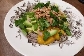 comment cuisiner des tomates s h s des oeuvres et des recettes 2 nouilles soba à la mangue et à l