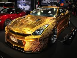 nissan skyline paint codes 金ピカgt r r35gt r gold metal paint customized by kuhl racing gtr