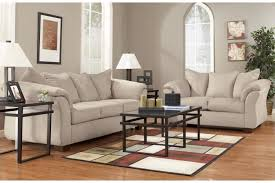 3 Pc Living Room Set Darcy Microfiber Living Room Set 7500038 7500035