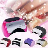 hd 60 60w ccfl led uv lamp nail dryer machine for nail polish gel