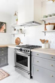 White Backsplash Tile For Kitchen Best 25 Grey Cabinets Ideas On Pinterest Grey Kitchens Kitchen