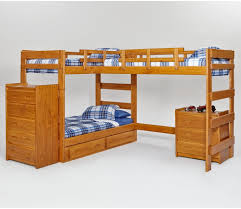 Photos Of Bunk Beds Woodcrest Heartland L Shaped Loft Bunk Bed With Loft Bed
