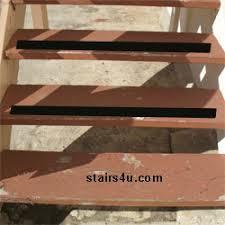 non slip wood stairs