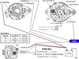 delco alternator wiring diagram external regulator ac and typical