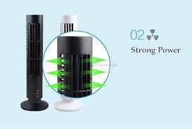 air conditioner tower fan home office usb mini fan no blades dc 5v bladeless ventilateur desk