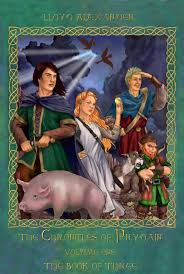 chronicles of prydain by lloyd alexander book of three cover the