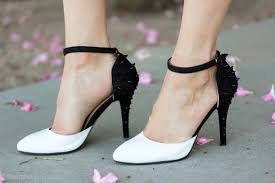 voluptuous black and white heels popfashiontrends